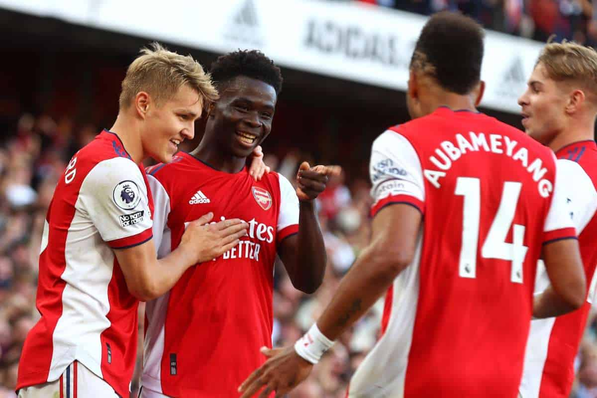 Arsenal celebrate 3-2 friendly win over QPR behind closed doors