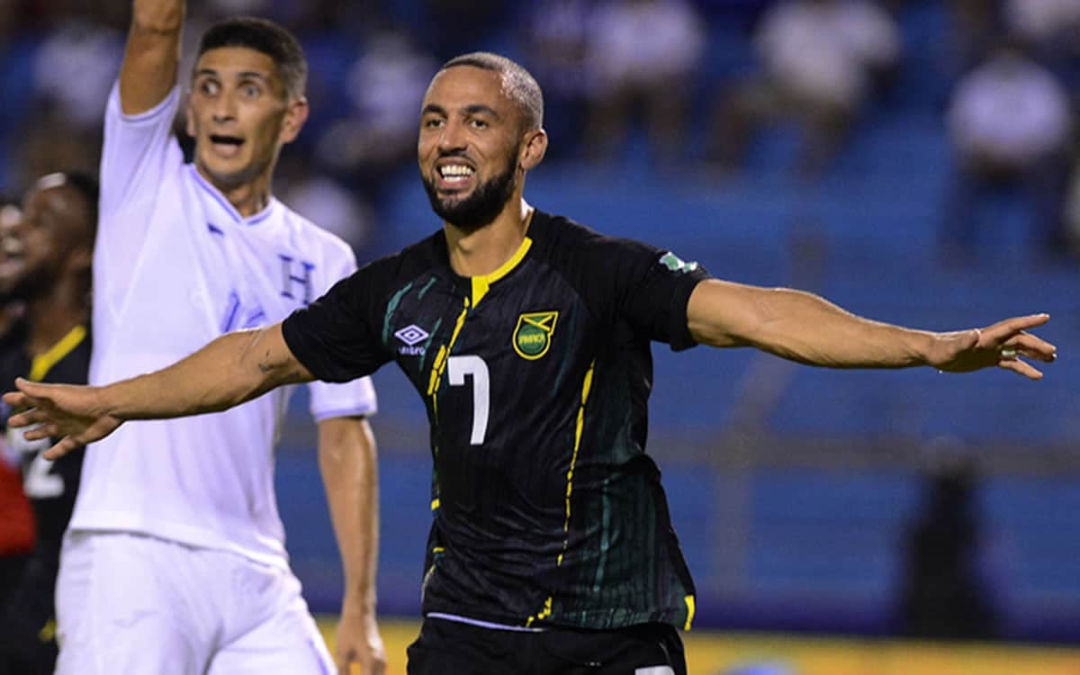 Kemar Roofe scores beautiful first goal for Jamaica