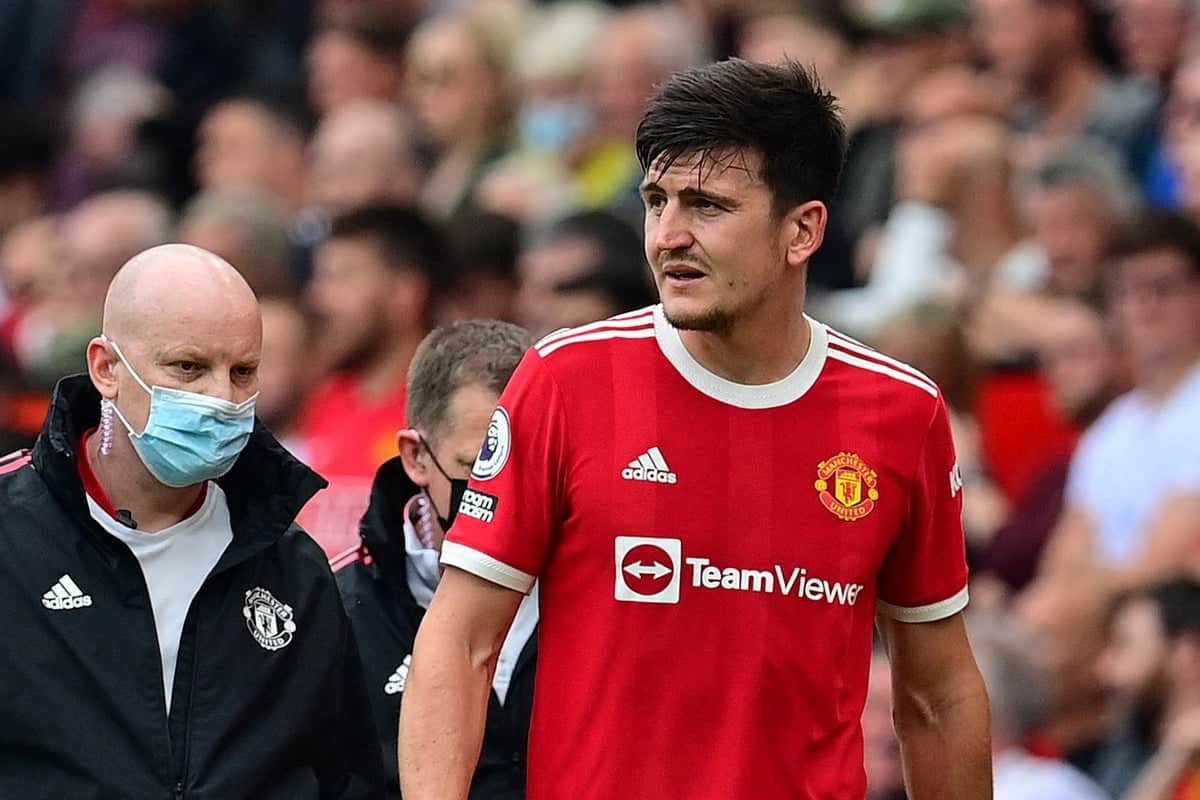 Harry Maguire provides update on his injury ahead of Leicester City clash